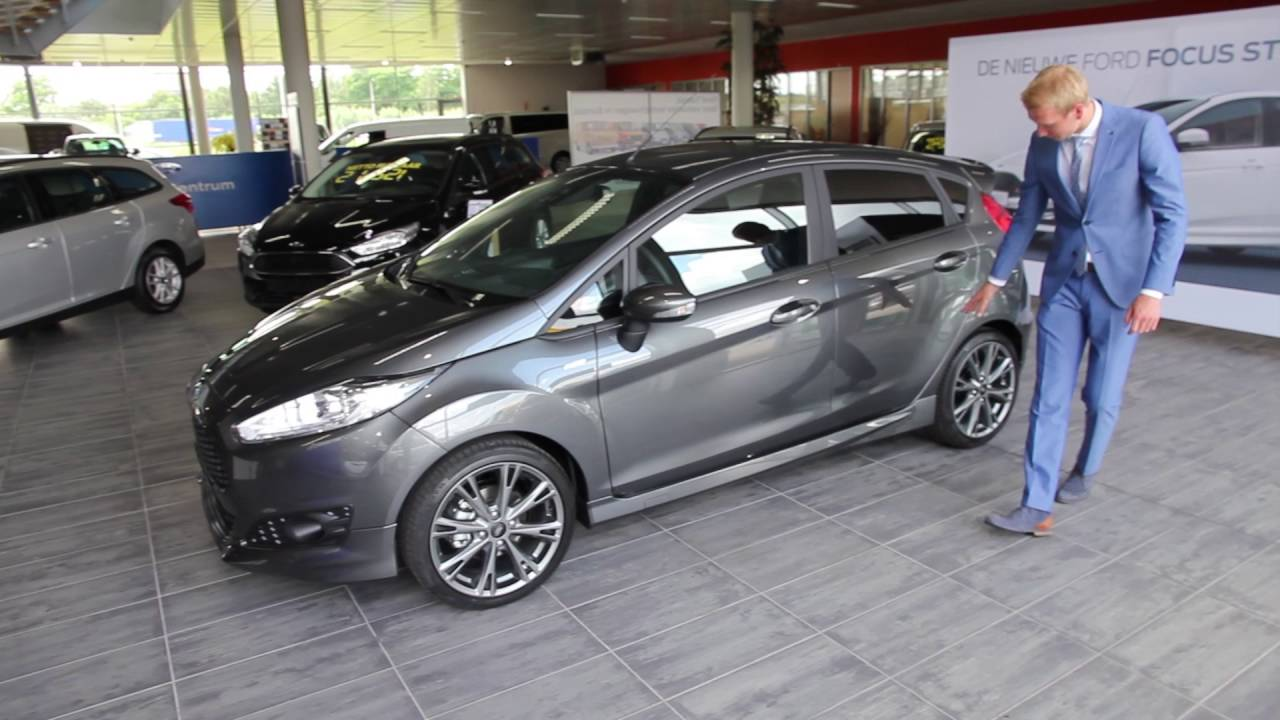 Fiesta St Line 140 >> Fiesta ST-line, nu bij Automotions Tigchelaar - YouTube