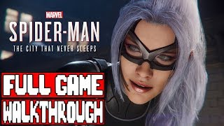 Spider-Man PS4 THE HEIST Gameplay Walkthrough Part 1 FULL GAME - No Commentary (Black Cat Spiderman)