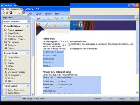 Windows Installer Custom Actions with Wise Package Studio - YouTube