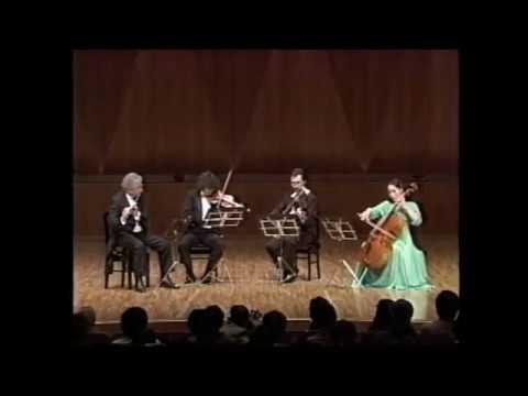 Mozart Flute Quartet in G Major K.285a Aurèle Nicolet/Mozart Trio