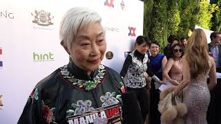 """INTERVIEW WITH LISA LU AT ACCS """"HOLLYWOOD CHINA NIGHT AWARD CEREMONY"""" WITH OSCAR VIEWING DINNER 2019"""