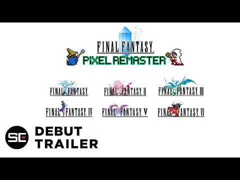 FINAL FANTASY PIXEL REMASTER   E3 Teaser Trailer