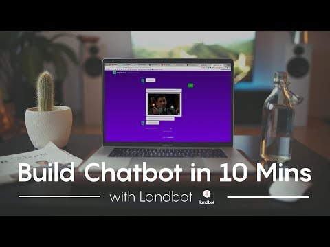 Make A Custom Chatbot In 10 Minutes With Landbot | My Favourite Tools #1