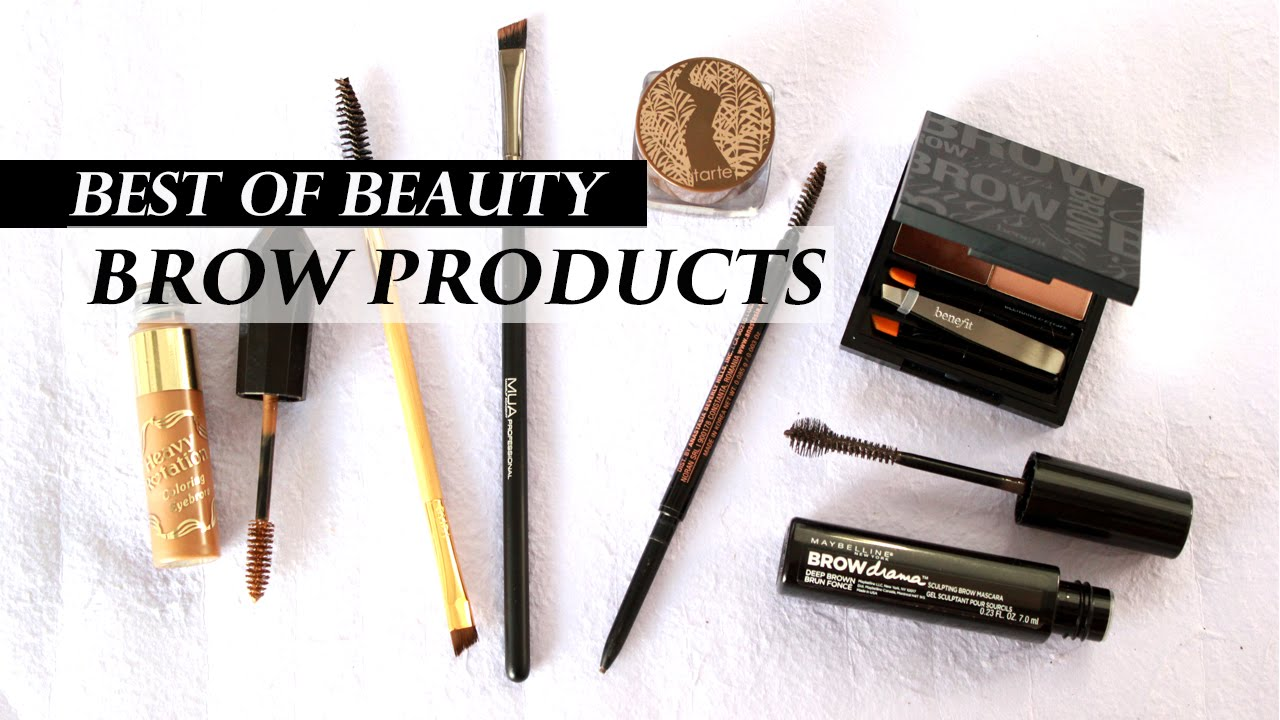 Top 5 Best Eyebrow Products Lookmazing Youtube
