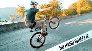 No Hand Wheelie Challenge!  SickSeries #59