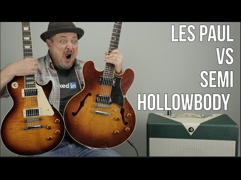 Les Paul vs 335 Style Semi-Hollowbody (Heritage)