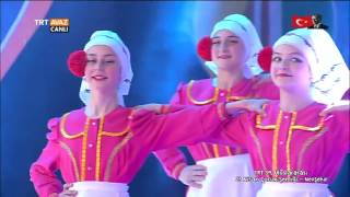 Moldova Gökoğuz Otonom Bölgesi - 23 Nisan 2017 Gösterisi - Nevşehir - TRT Avaz
