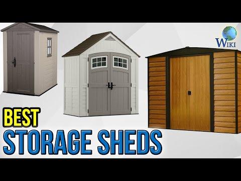 9 Best Storage Sheds 2017