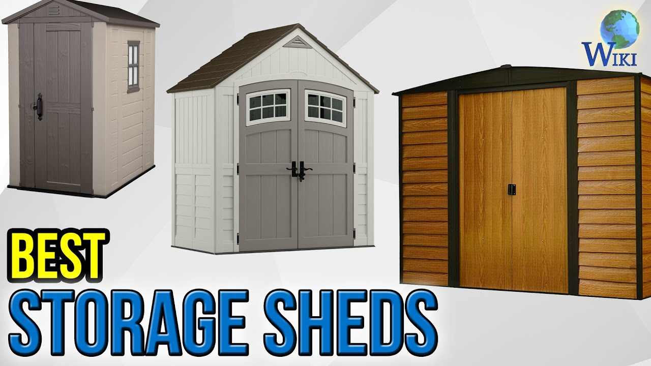 9 Best Storage Sheds 2017