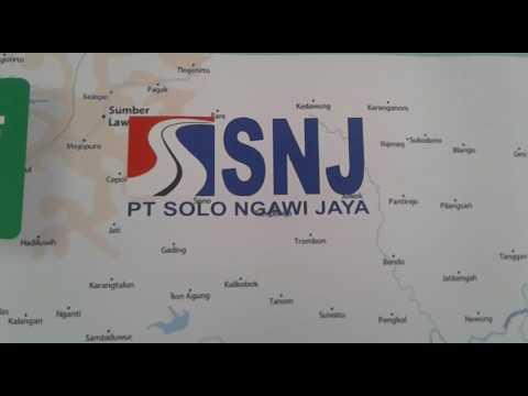 Peta Mudik 2017 Tol Solo-Ngawi