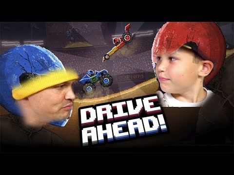 Разбиваем головы противникам в Drive Ahead