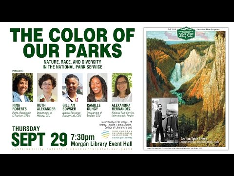 The Color Of Our Parks: Nature, Race, and Diversity in the National Park Service