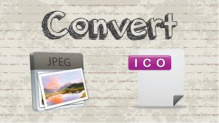 How to convert JPG format to ICO file | No Software