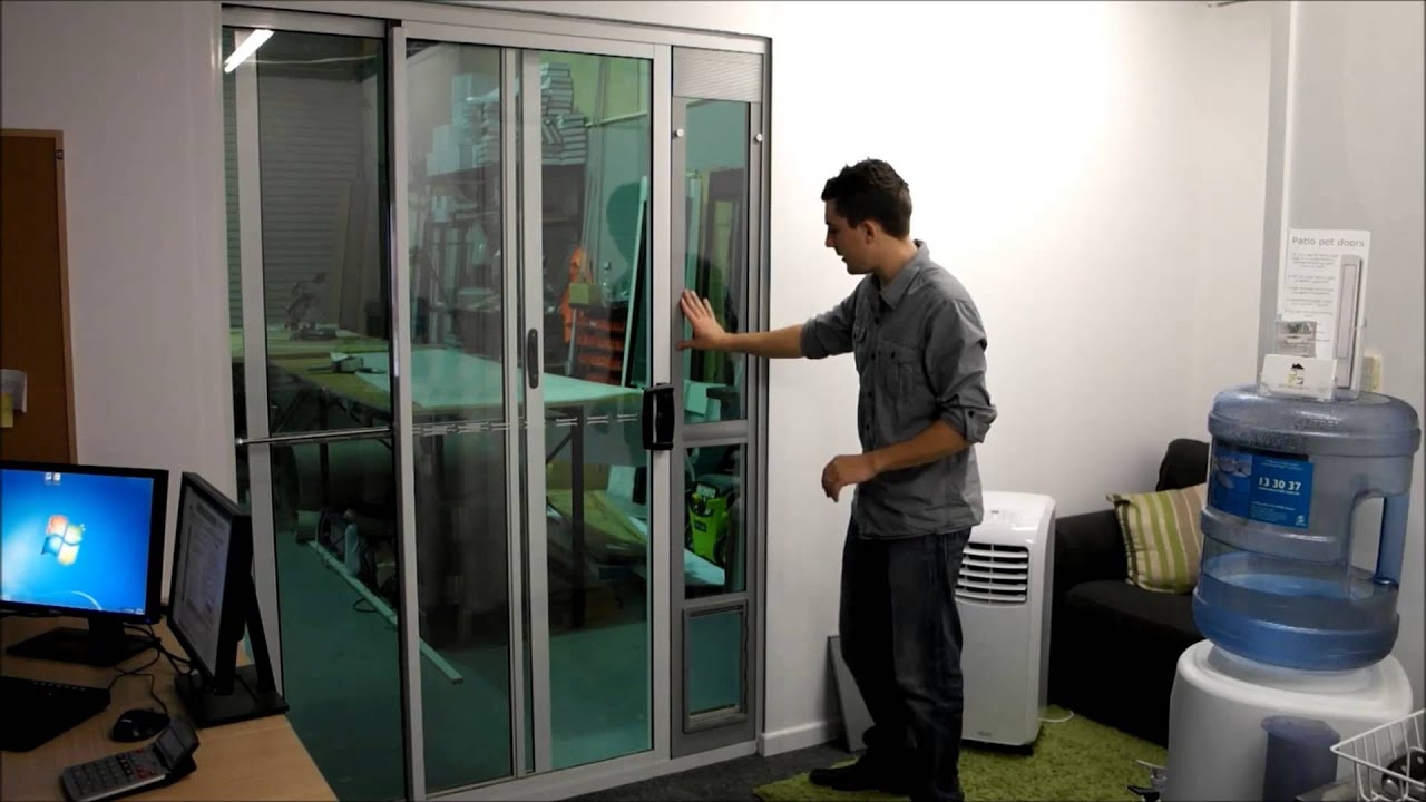 Hartman Patio Pet Door Review Youtube