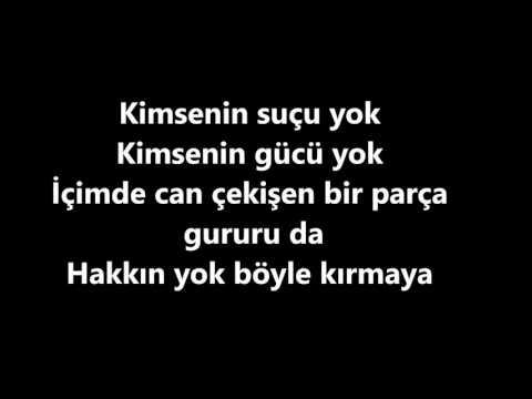 Kimsenin suçu yok - Buray - Karaoke