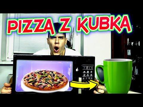PIZZA DOMOWA W 2 MINUTY / FASTFOOD LIFEHACK PO SZKOLE