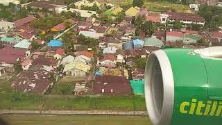 Flight Juanda - Balikpapan (SUB-BPN) IV 24-12-2017