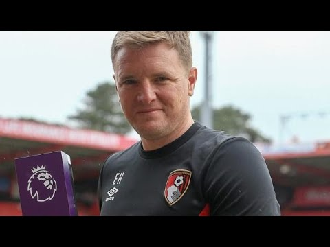 Premier League: Bournemouth manager Eddie Howe wins manager of the month award