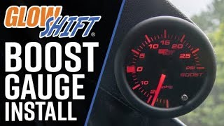 GlowShift | How To Install A GlowShift 7 Color Series Boost Gauge