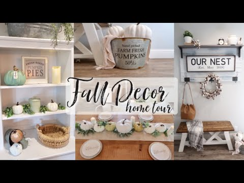 FALL HOME TOUR 2019 | FARMHOUSE FALL DECOR HOME TOUR | FARMHOUSE STYLE DECORATING