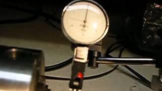 Machining: Checking TIR: total indicated runout