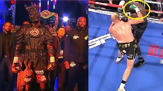 True Or False - Deontay Wilder 40Lbs Walkout Costume Caused Concussion