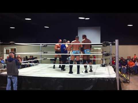 Steve Anthony & Tim Storm vs. John Saxon & Barrett Brown - NWA Bayou Independent Wrestling