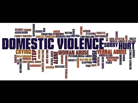 Domestic Violence Awareness *GRAPHIC IMAGES""
