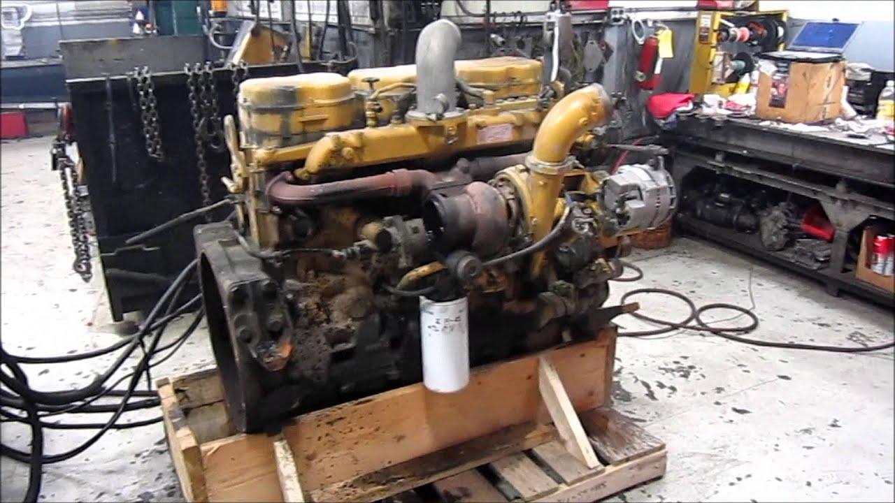 Caterpillar C12 2ks Engine Running