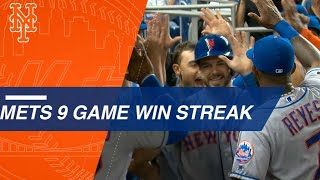 Nine-game win streak fuels Mets' franchise-best start