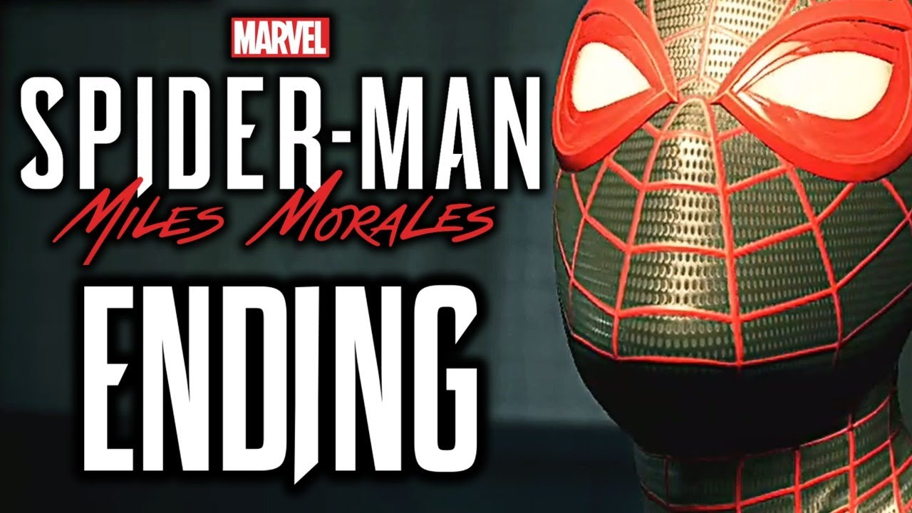 MILES MORALES ENDING WALKTHROUGH Finale (Main Story Gameplay) Marvel's Spider-Man: Miles Morales