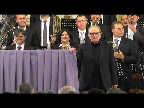 "Ennio Morricone dies at 91, ""comforted by faith"""