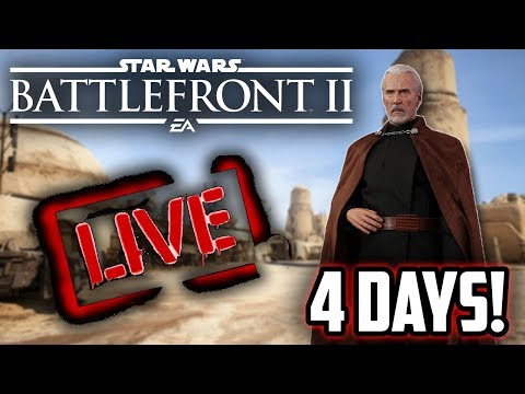 Hello There! 4 Days Until Dooku! Star Wars Battlefront 2 Live! thumbnail