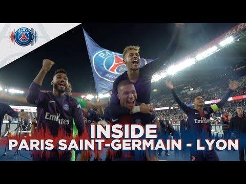 INSIDE - PARIS SAINT-GERMAIN vs LYON with Kylian Mbappé
