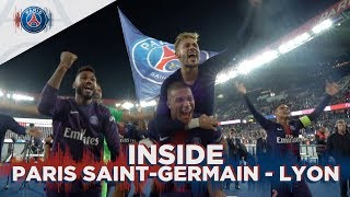 INSIDE - PARIS SAINT-GERMAIN vs LYON with Kylian Mbappé