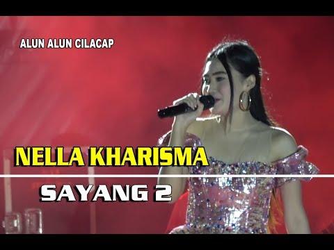 Nella Kharisma - Sayang 2 - Om Lagista LIVE Alun - Alun Cilacap 18 Agustus 2018