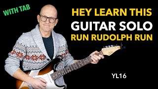 You Can Learn This Guitar Solo - Run Rudolph Run by Chuck Berry (Warp Kings)