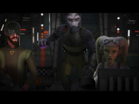 Star Wars Rebels   S4E3   Saw Garrera destroys an Imperial light cruiser  