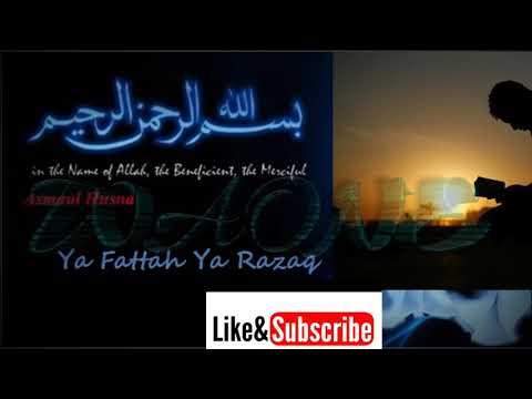 DZIKIR; Ya Fattah Ya Razzaq