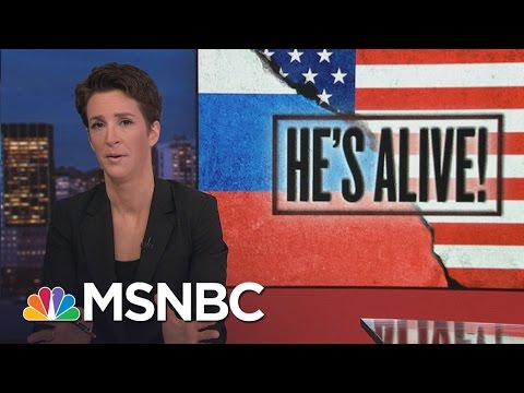 More Pieces Of Donald Trump Russia Dossier Check Out | Rachel Maddow | MSNBC