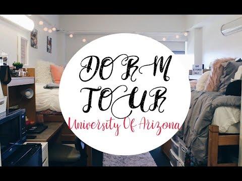 DORM TOUR   UNIVERSITY OF ARIZONA 2017