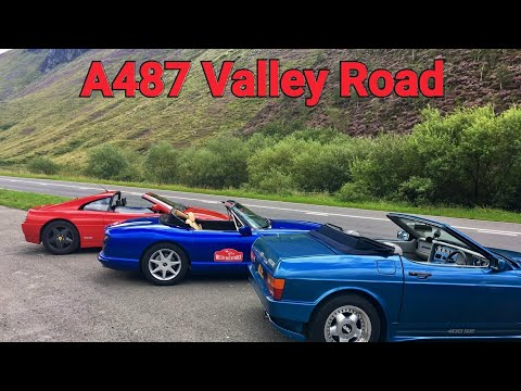 A487 Valley Road - Go Pro on board Honda S2000 also drive by Ferrari 348, TVR 400SE and TVR Chimera