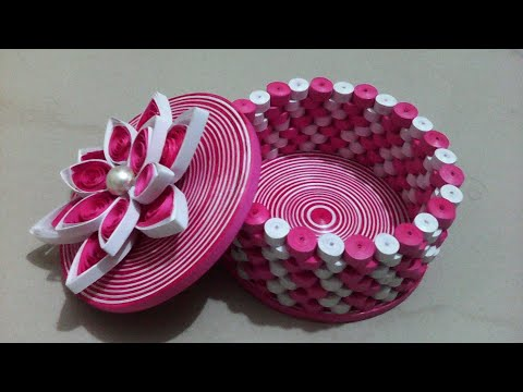 How to make jewellery Box # Crafts to do at home