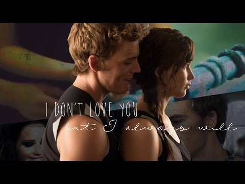 Katniss × Finnick || I don't love you, but I always will