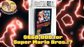 Super Mario Bros. Sold for $660,000?!