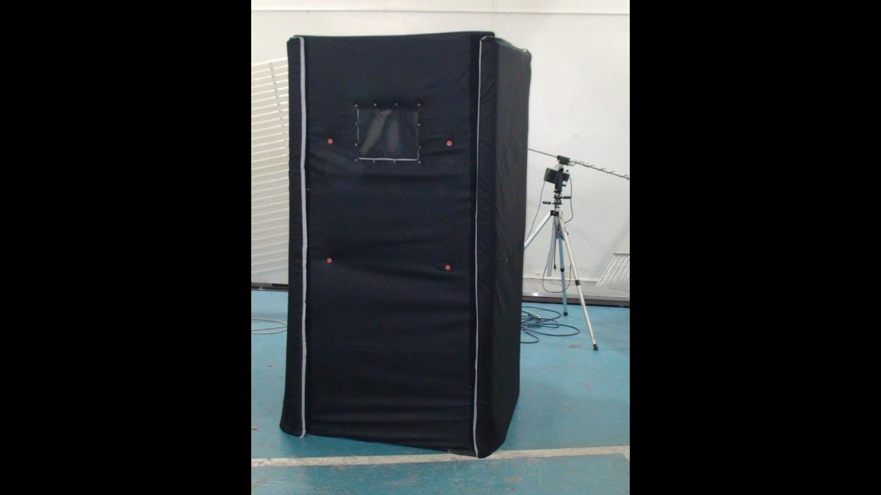 Portable Soundproof Er Sound Booth Sb33 Used As A Practice Room To Playingtrumpet Test