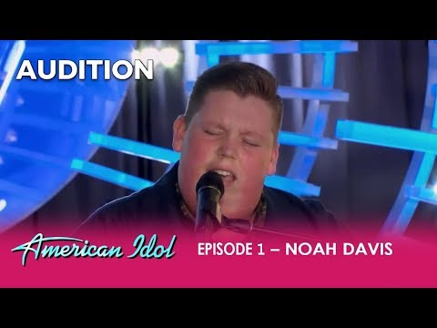 Noah Davis: This Farm Boy From Arkansas Will Make You Say WIG!!!   American Idol 2018