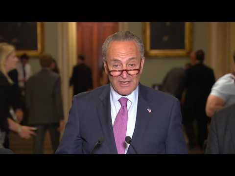 Schumer says McConnell will 'buy off Republicans' to pass health-care bill