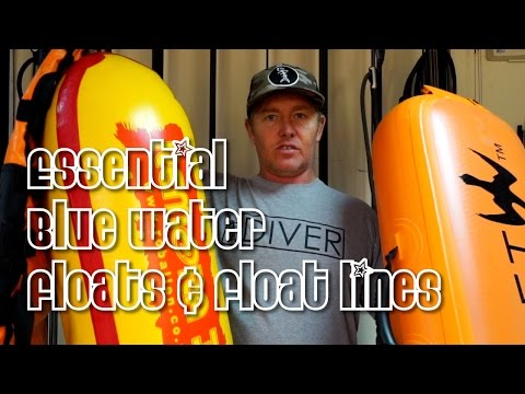 Floats And Float Lines For Bluewater Spearfishing