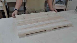 Making a Wooden Floor Mat [ Wo…